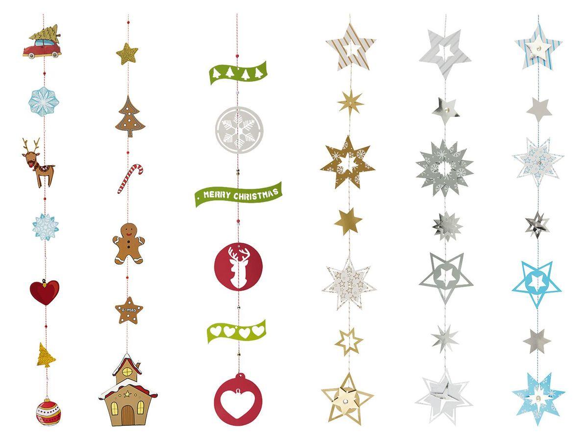 Bild 1 von CRELANDO® Bastelsortiment Weihnachtsgirlande