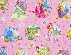 Geschenkpapier DISNEY - Princess