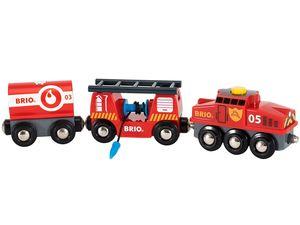 BRIO World Feuerwehr-Löschzug