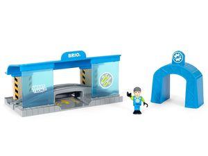 BRIO World Smart Tech Eisenbahn-Werkstatt