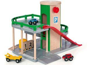 BRIO World 33204 Parkhaus Straßen & Schienen