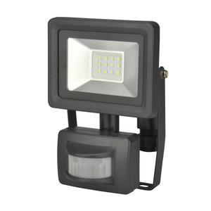 UNITEC                 LED Wand-Strahler, Bewegungsmelder, 10W, 800lm, anthrazit