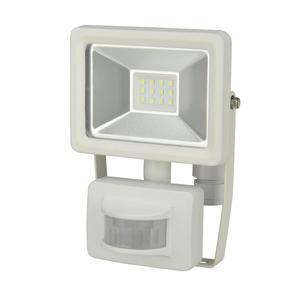 UNITEC                 LED Wand-Strahler, Bewegungsmelder, 10W, 800lm, weiss