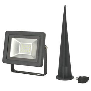 UNITEC                 LED Strahler, mit Erdspiess, 10W, 800 lm