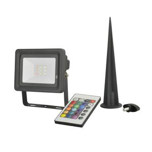 UNITEC                 LED Strahler, mit Erdspiess, RGB, 10W, 240lm