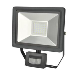 UNITEC                 LED Wand-Strahler, Bewegungsmelder, 30W, 2400lm, anthrazit