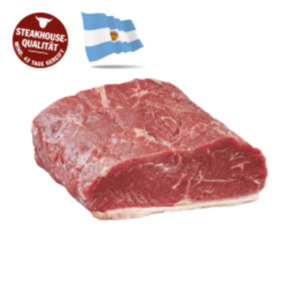 Argentinisches frischesRoastbeef oder Rumpsteak