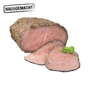 Deutscher gebratenerJungbullen-Roastbeef-Aufschnitt