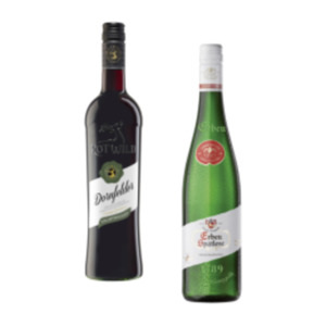 Erben Rebsortenweine oder Rotwild Dornfelder
