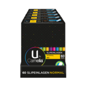 U by Camelia Slipeinlagen Normal, Tampons oder Ultra Binden