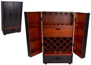 Weinbar im Koffer - Größe S