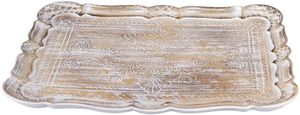 Dekotablett - aus Holz - 41 x 30 x 3 cm
