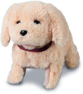 Besttoy - Plüschhund mit Saltofunktion - beige