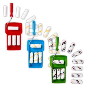Powertec Color Lackierroller-/ Lasurroller- oder Dispersionsroller-Set 14teilig