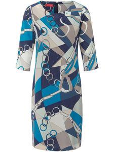Kleid aus reiner Seide Laura Biagiotti Donna mehrfarbig