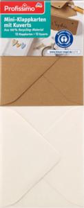 Profissimo Mini-Klappkarten mit Kuverts