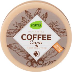 alverde NATURKOSMETIK  Coffee Care Körperbutter