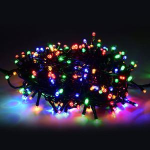 200er LED-Lichterkette bunt mit 8 Funktionen für Außen & Innen
