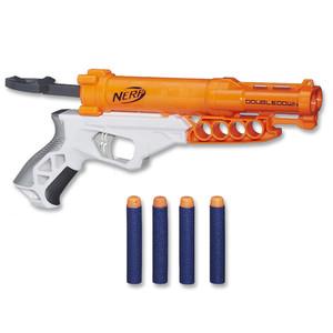 Nerf »N-Strike Doubledown« Doppellauf-Spielzeugwaffe
