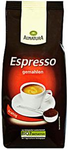Alnatura Bio Espresso gemahlen 250 g
