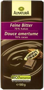 Alnatura Bio feine Bitter Schokolade 70% Kakao 100 g