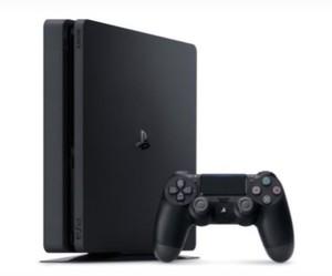 PS4 Konsole schwarz Slim 500 GB   B-Ware