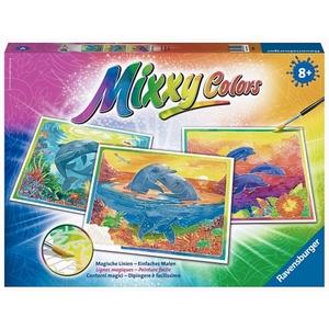 Ravensburger - Mixxy Colors Maxi: Verspielte Delfine