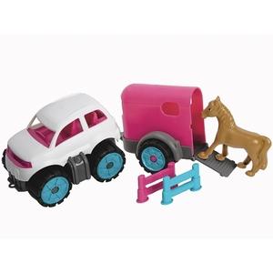 BIG - Power Worker: Mini-Ponytransporter-Set
