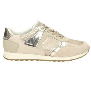 Damen Sneaker, beige - kombiniert