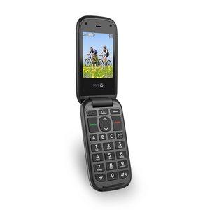 """DORO Phone Easy® 613 Mobiltelefon, 6,1 cm (2,4"""") Display, Telefonbuch mit 300 Speicherplätzen, Bluetooth 3.0, 2 MP Kamera (B-Ware)"""