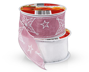 CASADeco Weihnachts-Geschenkband