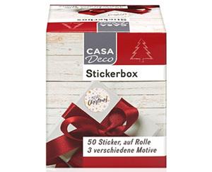 CASADeco Stickerbox, 50Stück