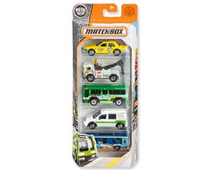 MATTEL® MATCHBOX®  Autos, 5er-Set