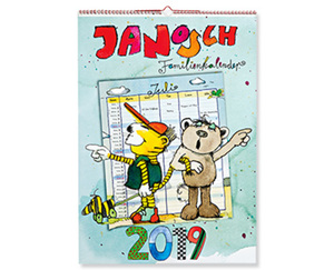 JANOSCH Wandkalender