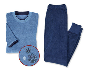 SkintoSkin Frottee-Schlafanzug