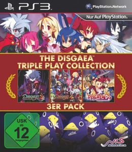 PS3 Disgaea Triple Play Collection