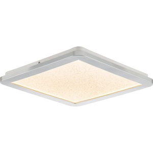 NINO LED Deckenlampe /Badlampe 30 x 30 IKOMA Silberfarbig