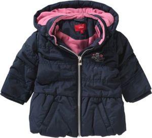 Baby Wintermantel mit Polarfleecefutter Gr. 74 Mädchen Baby