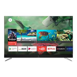 TCL U 55 C7006 - 139 cm (55 Zoll) Fernseher (4K Ultra HD, HDR 10, Android Smart TV, WLAN, Triple Tuner (DVB T2), JBL Sound, USB)