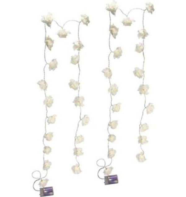 Home affaire LED-Lichterkette »Rose« (2er Set)