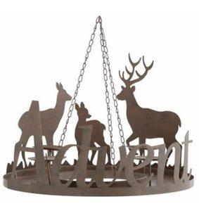 Adventskranzständer aus Metall, Ø 40,5 cm, »Advent«