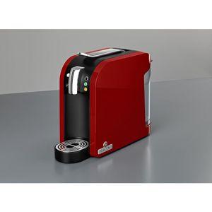 Teekanne Teemaschine, Starterset, TEALOUNGE SYSTEM, 1.455 W, Einzelgetränkeportion, 1 l, 15 x 39,8 x 29,7 cm, rot