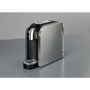 Teekanne Teemaschine, Starterset, TEALOUNGE SYSTEM, 1.455 W, Einzelgetränkeportion, 1 l, 15 x 39,8 x 29,7 cm, silber