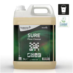 Diversey SURE Floor Cleaner pflanzenbasiert 100% biologisch abbaubar, 5l
