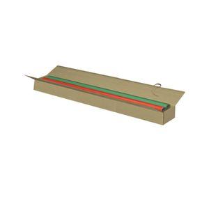 Pressel Versandkarton, 2-wellig, Wellpappe, doppelter Deckel, innen: 1.000 x 200 x 200 mm, braun