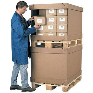 Pressel Aufbewahrungsbox, Wellpappe, 117 x 77,5 x 72 cm, braun