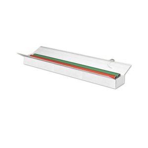 Pressel Versandkarton, Wellpappe, doppelter Deckel, innen: 800 x 130 x 90 mm, weiß