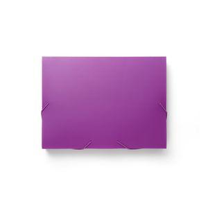 Staples Sammelbox A4 Pink Gummizugverschluss Polypropylen