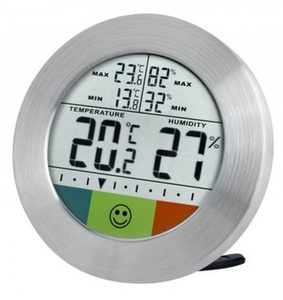 Bresser Thermometer »Temeo Hygro Circuitu dig. Thermometer/Hygrometer«