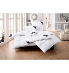 Daunenbettdecke, »Lugano«, Excellent, warm, Füllung: 100% Daunen, Bezug: 100% Baumwolle, (1-tlg)
